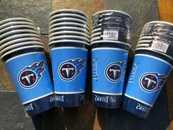 24 16 oz tennessee titans disposable paper