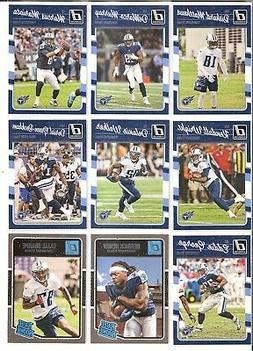 Tennessee Titans Topps  Football Team Card Sets + 1/24 Scal