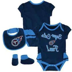 $30) Tennessee Titans nfl INFANT BABY NEWBORN Jersey Booties