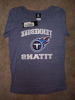 Tennessee Titans TRI-BLEND nfl Jersey Shirt Adult WOMENS/LA
