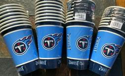 32 - 16 oz. Tennessee Titans Disposable Paper Cups