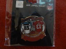 49ERS GAME DAY PIN 11 08 2009 TENNESSEE TITANS GAMEDAY LEVI