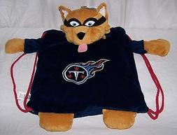 5184 Blue TENNESSEE TITANS Plush Cinch Sack Backpack Pals Fo