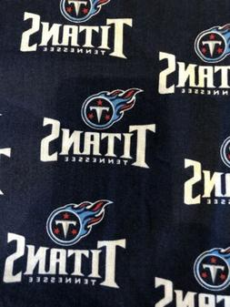 """Fabric Vintage Tennessee Titans   blue NFL 9""""x58"""""""