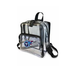 "Football Tennessee Titans Mini Clear Stadium Backpack 10"" x"