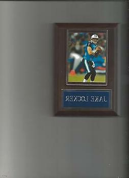 JAKE LOCKER PLAQUE TENNESSEE TITANS FOOTBALL NFL GAME ACTION