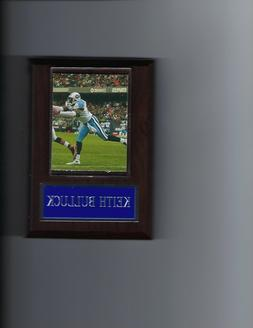 KEITH BULLUCK PLAQUE TENNESSEE TITANS FOOTBALL NFL