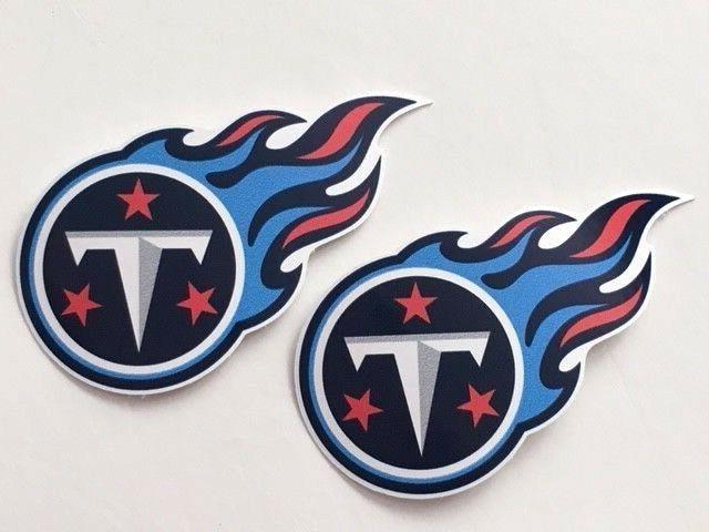 2x Tennessee Titans Car Bumper Laptop Laptop Vinyl Die Cut S