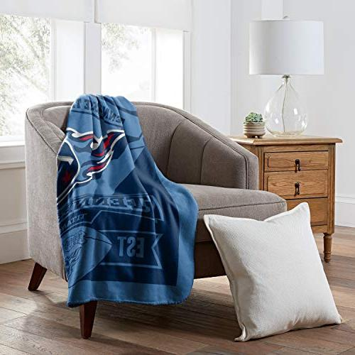 The Northwest Company Tennessee Titans Printed Fleece 50-inch by 60-inch
