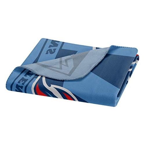 The Northwest NFL Tennessee Fleece Throw, 50-inch by 60-inch