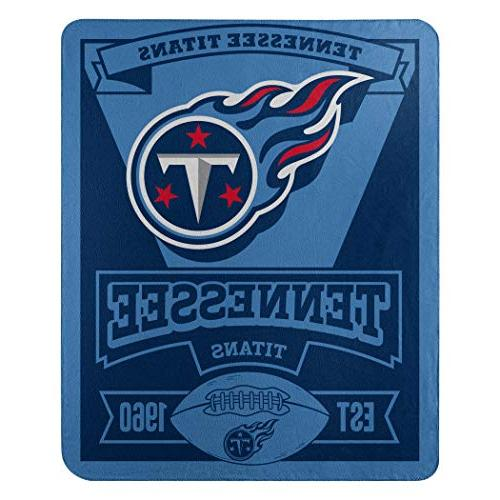 The Northwest Company NFL Tennessee Titans Marque Printed Fl