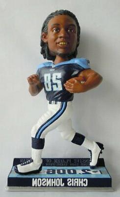 Chris Johnson  Commemorative NFL Bobble Head Exclusive #/360