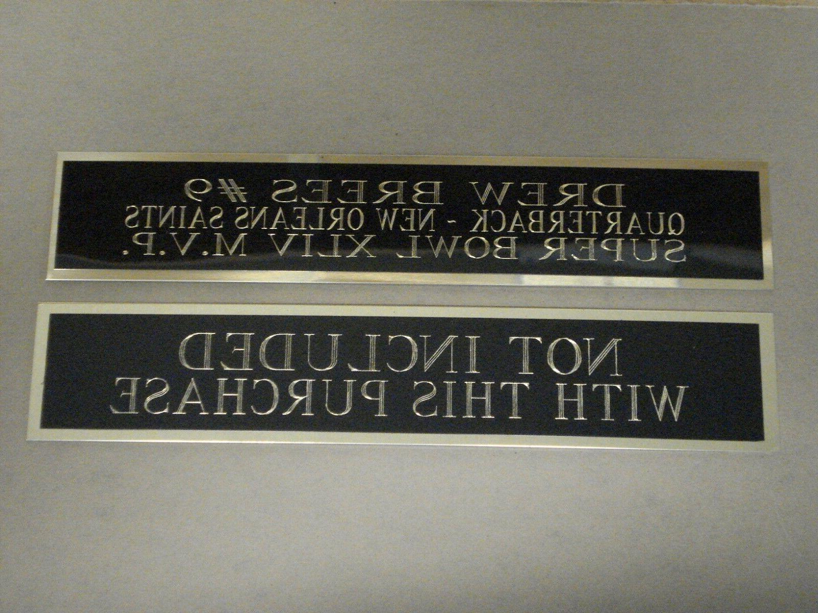 Derrick Nameplate For Display Case 6