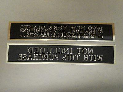 Marcus Tennessee Titans Nameplate Display 1.25 6