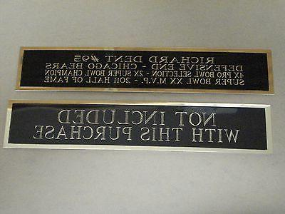 Marcus Tennessee Nameplate For A Display 6