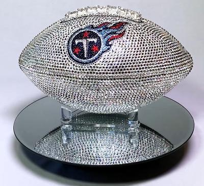 NEW Football Made Crystals Case