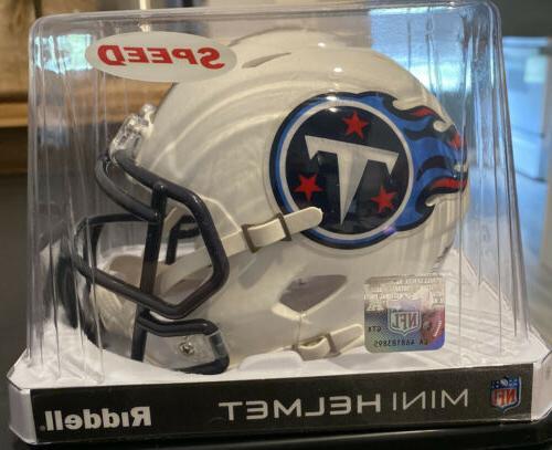 new tennessee titans speed nfl football mini