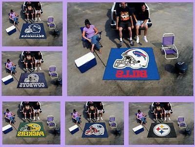 nfl licensed 5 x6 tailgater area rug