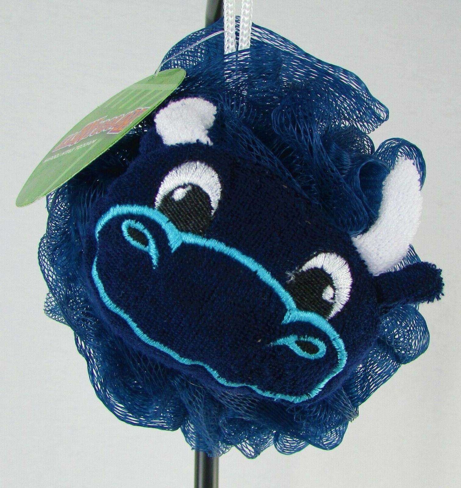 nfl team logo mascot wear bath loofah
