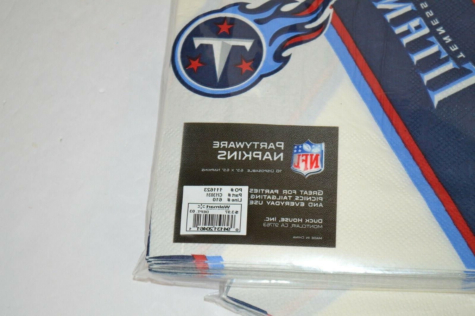 NFL Titans Paper Cups, and Supplies