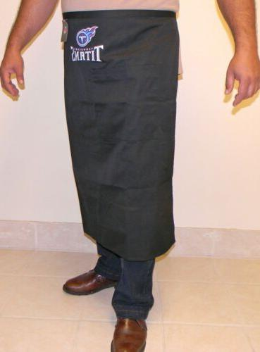 nfl tennessee titans bistro apron officialy licensed