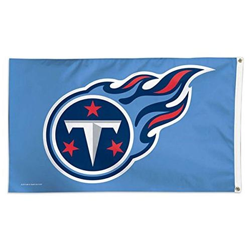 nfl tennessee titans deluxe flag