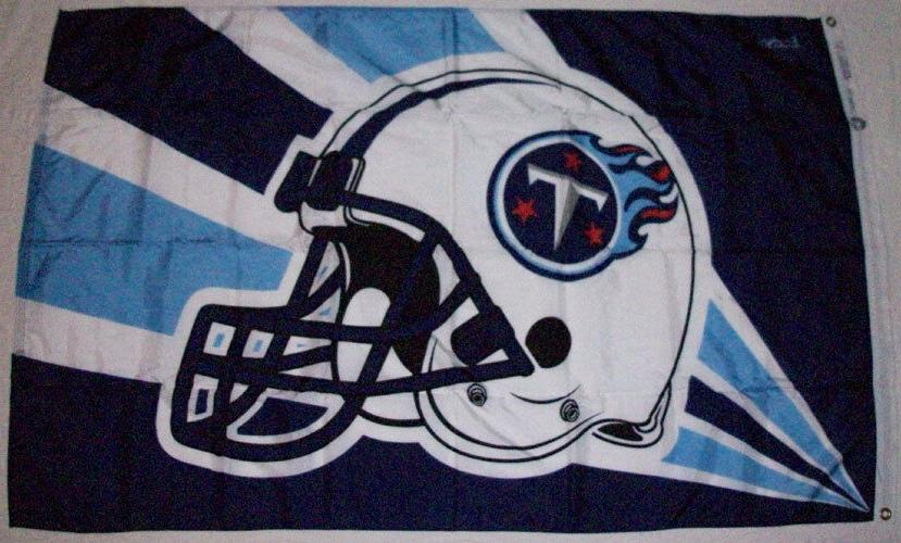 nfl tennessee titans flag nos 3 x