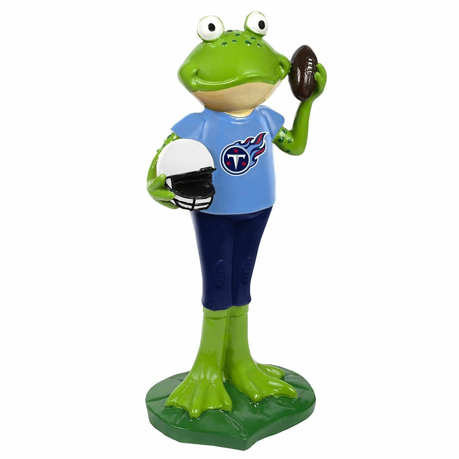 nfl tennessee titans frog player figurine