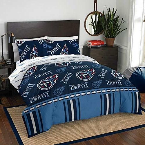 nfl tennessee titans full bed in a