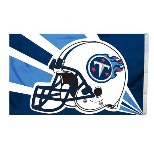 nfl tennessee titans helmet flag