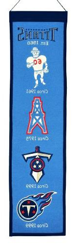 NFL Tennessee Titans Heritage Banner