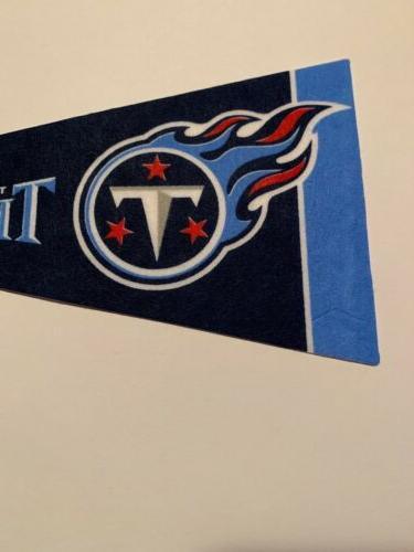 NFL Tennessee Pennant Flag NEW Football Decor