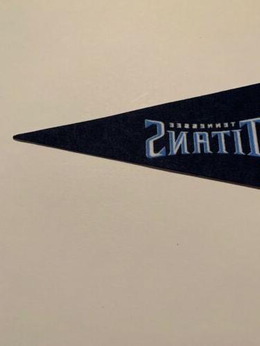 NFL Tennessee Titans Pennant Flag Football Decor