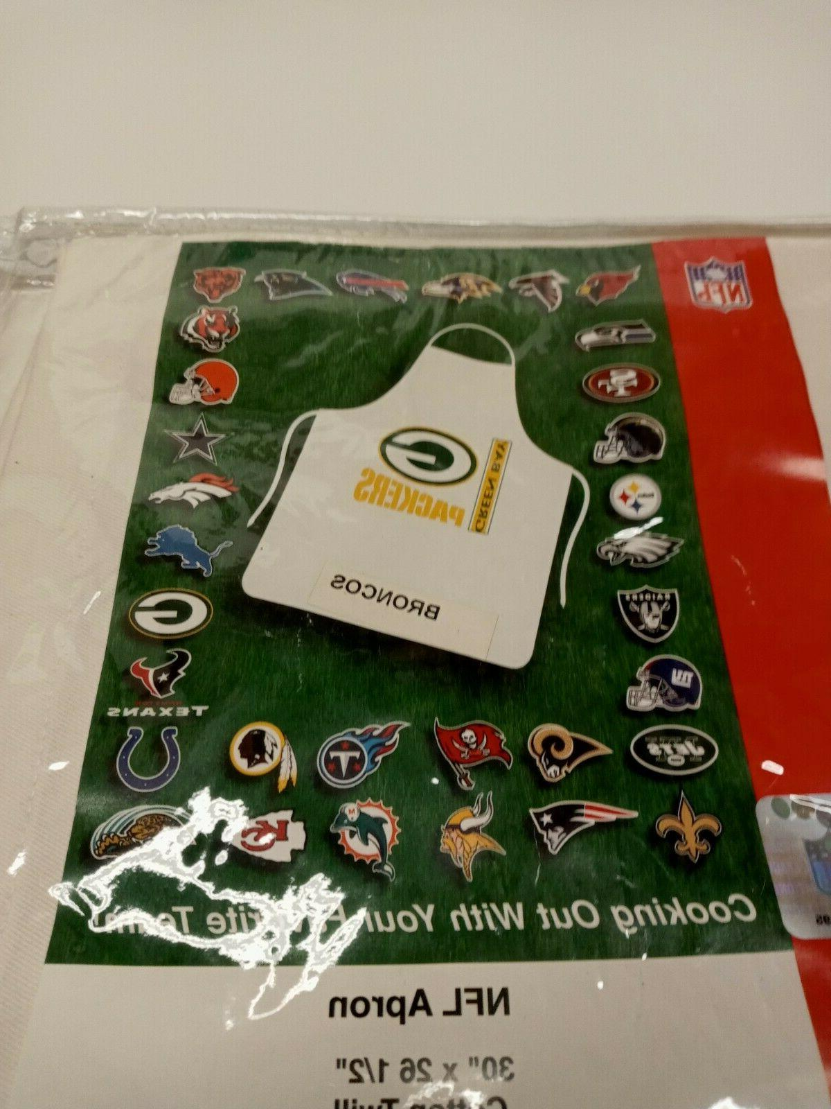 """NFL TENNESSEE APRONS 30"""" COTTON TWILL"""