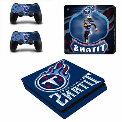 nfl tennessee titans ps4 slim console skin