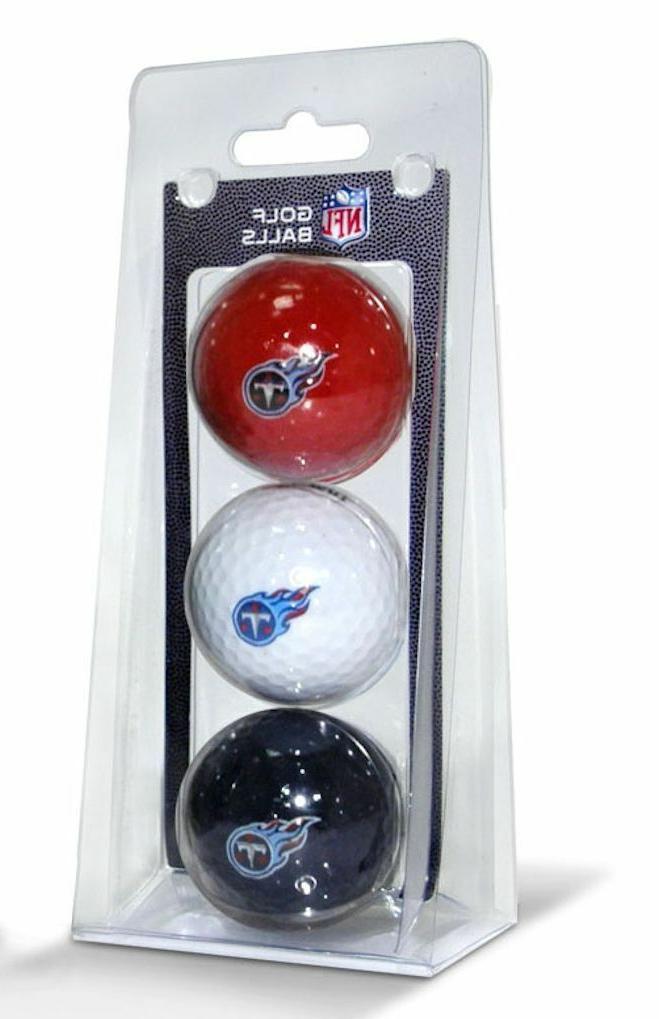 nfl tennessee titans regulation golf balls 3