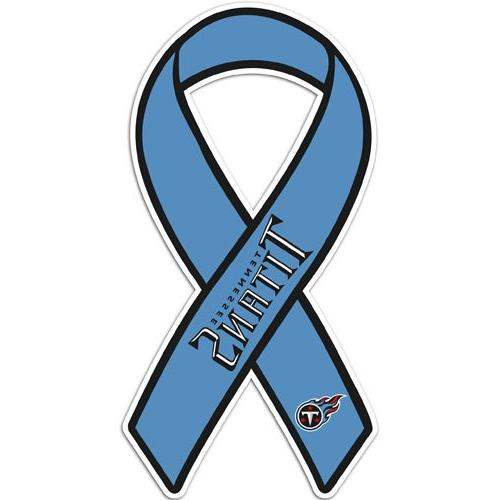 nfl tennessee titans ribbon magnet