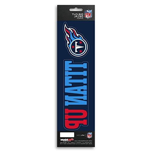 nfl tennessee titans slogan decal