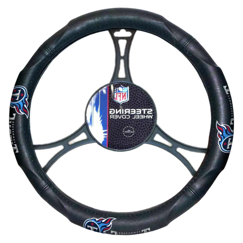 nfl tennessee titans steering wheel