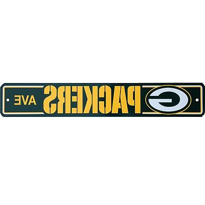 Official Football Sign Ave Licensed Man Cave 4 x 24