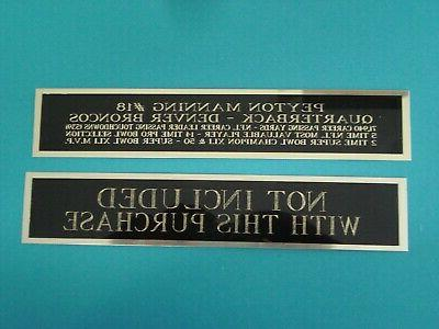 Ryan Tennessee Titans Nameplate For A Football Helmet 8
