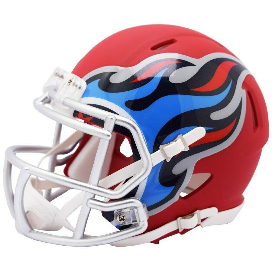 tennessee titans amp alternate mini helmet