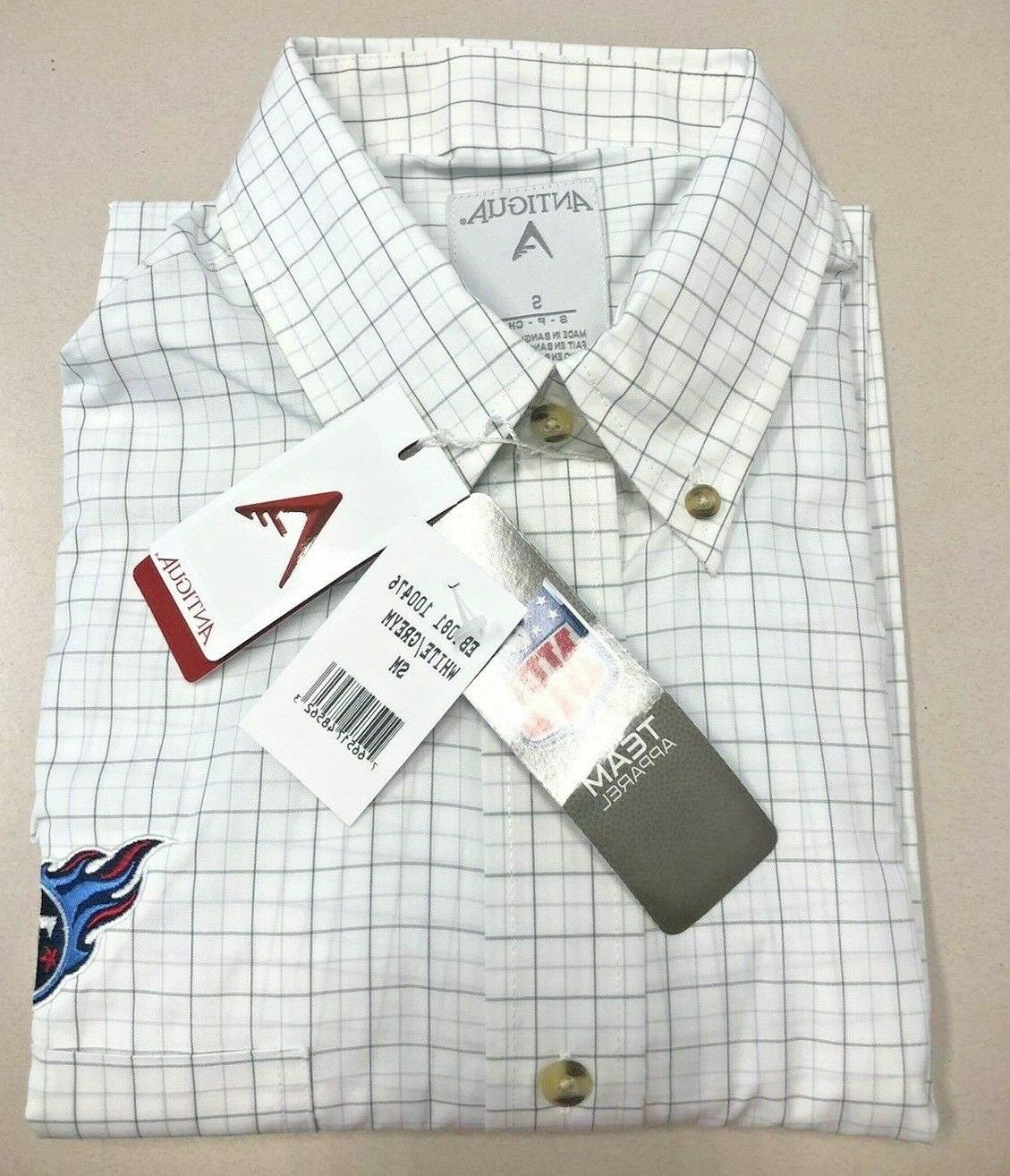 tennessee titans button down shirt small nfl