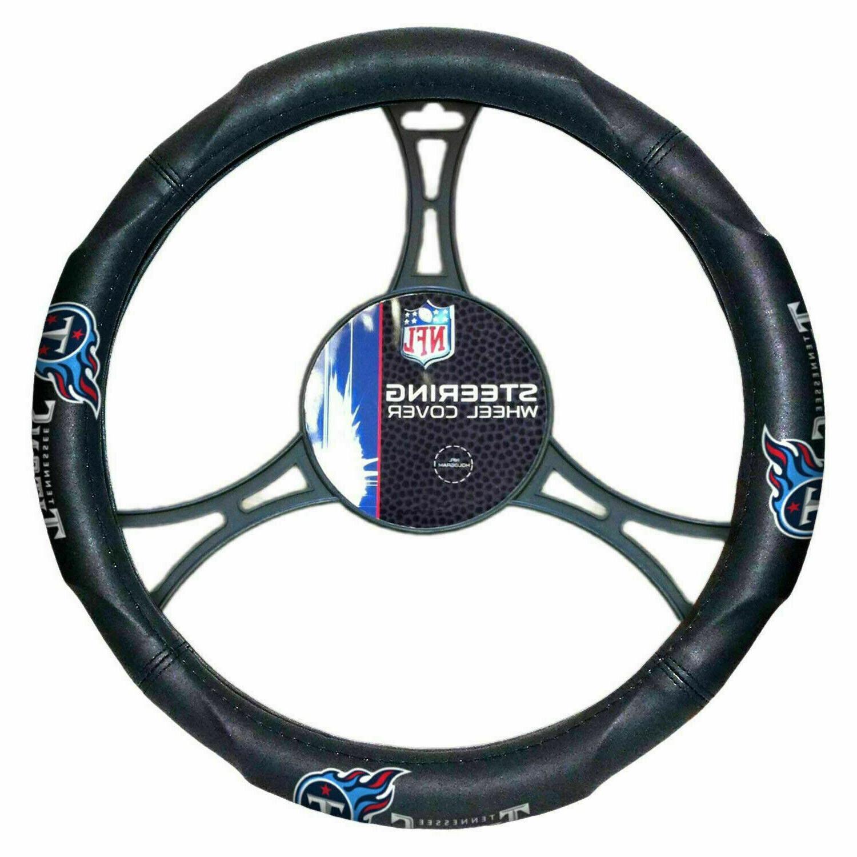 tennessee titans car truck black steering wheel