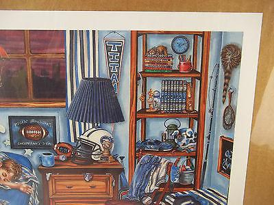 Tennessee Signed Gale Osborne Print