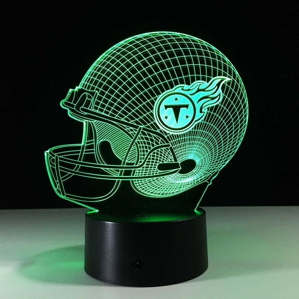 Tennessee Titans Collectible Home Light Lamp