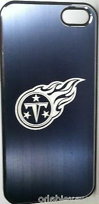 Tennessee Titans Etched Logo iPhone 5 5s Brushed Metal Phone