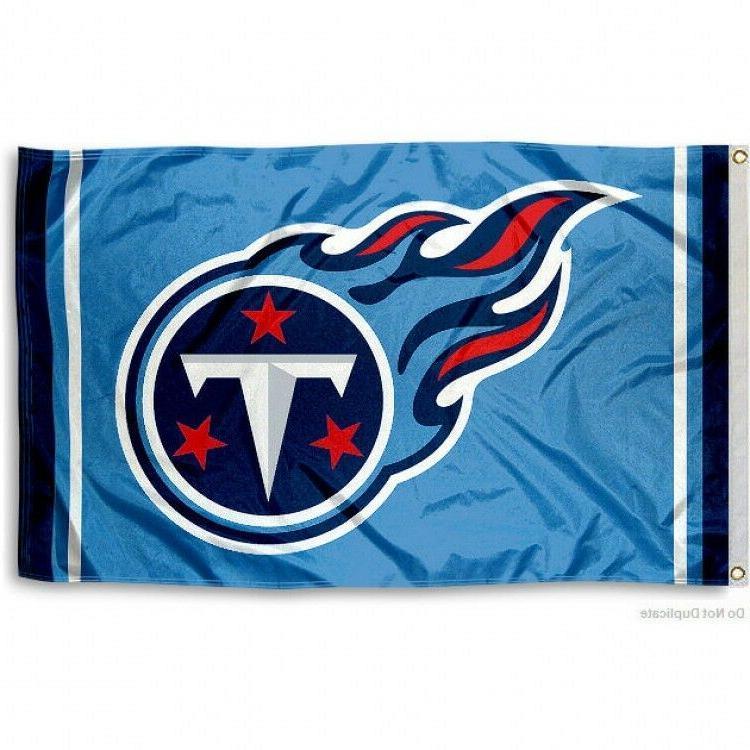 tennessee titans flag 3 x5 nfl logo