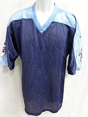 tennessee titans football jersey replica blank blue