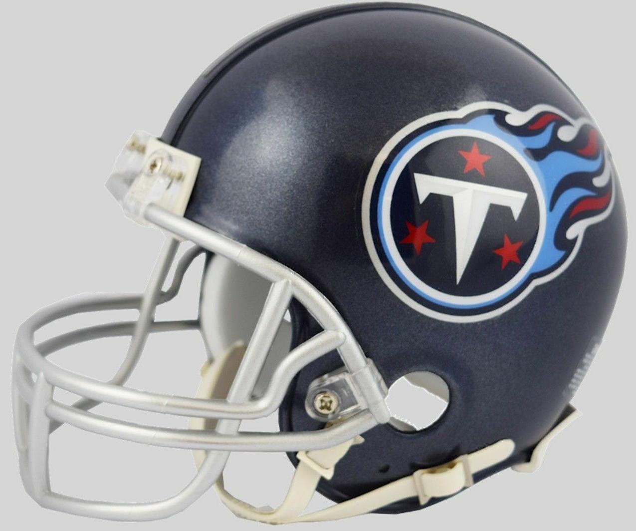 tennessee titans football mini helmet 2018 logo